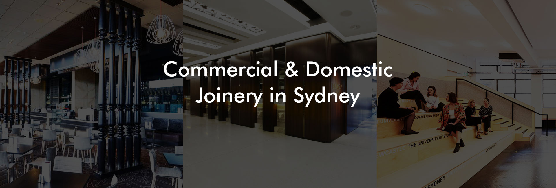 Commercial and Domestic Joinery in Sydney
